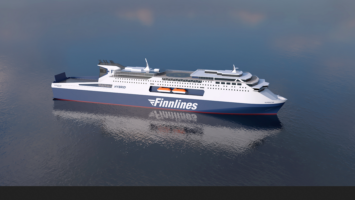 Finnlines has two new ferries under constructin in China (Image: Finnlines)
