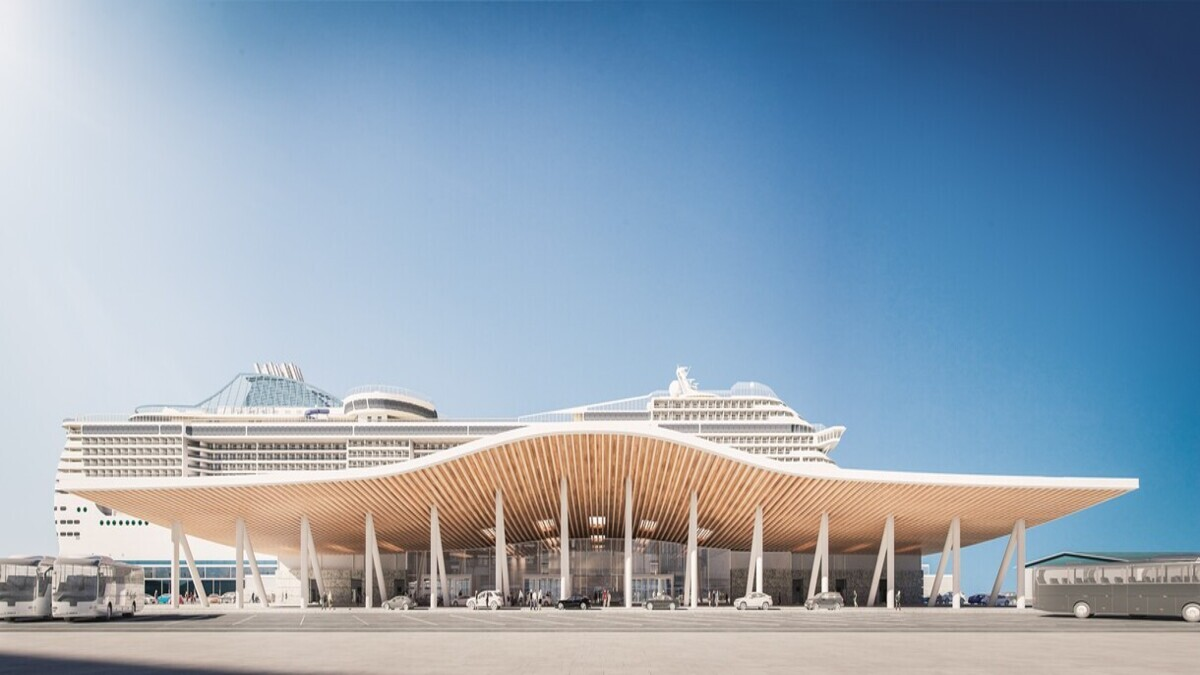 Southampton bets on cruise shipping revival with new £55M cruise terminal