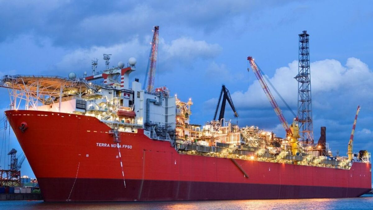 Suncor Energy has moved Terra Nova FPSO into Bull Arm, Newfoundland (source: Suncor)