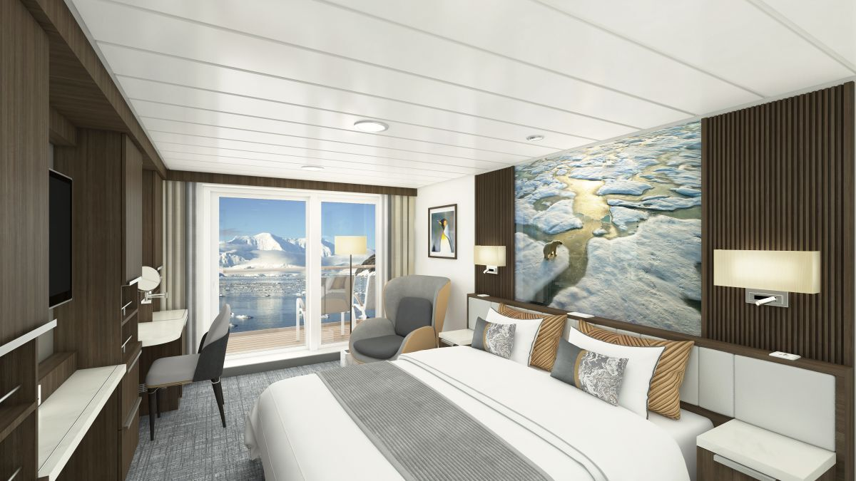 Generous-sized cabins have all the comforts one would expect of a modern cruise ship (source: SunStone)