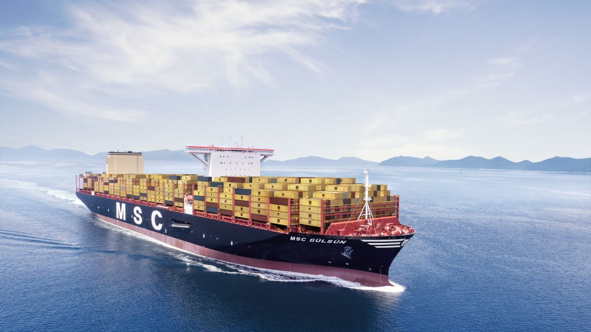 MSC's Gulsun class vessels will receive DNV GL's new safety notation (Image: MSC)