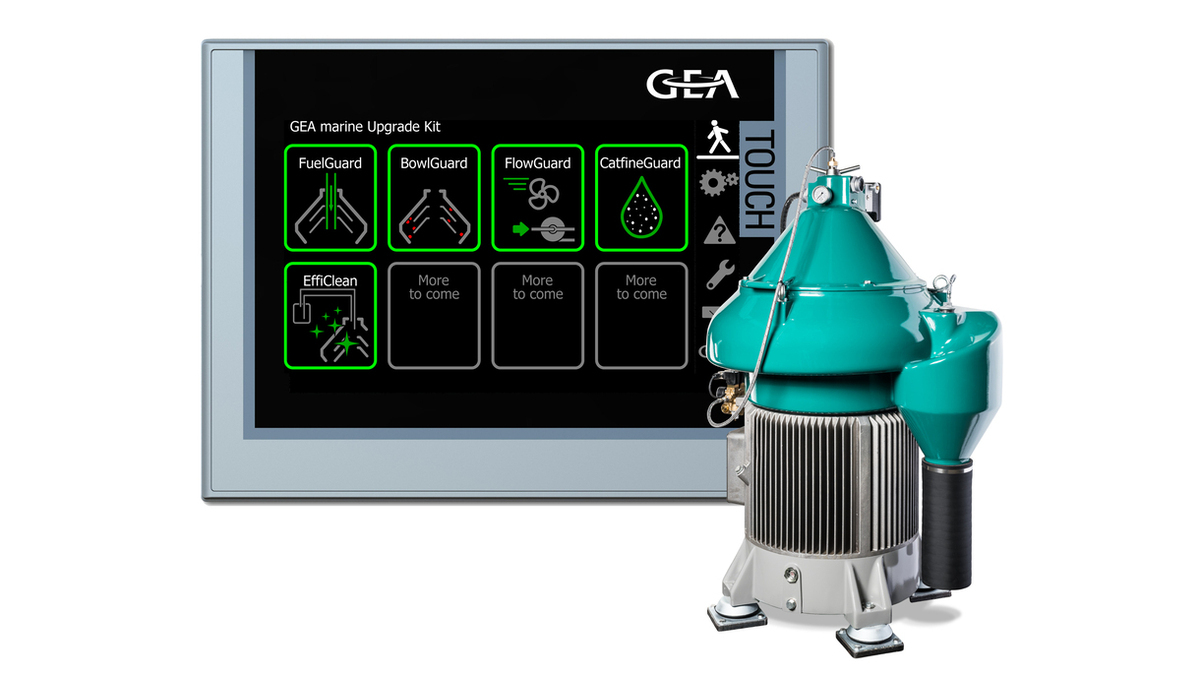 Upgrade kit digitalises GEA marine separator functions