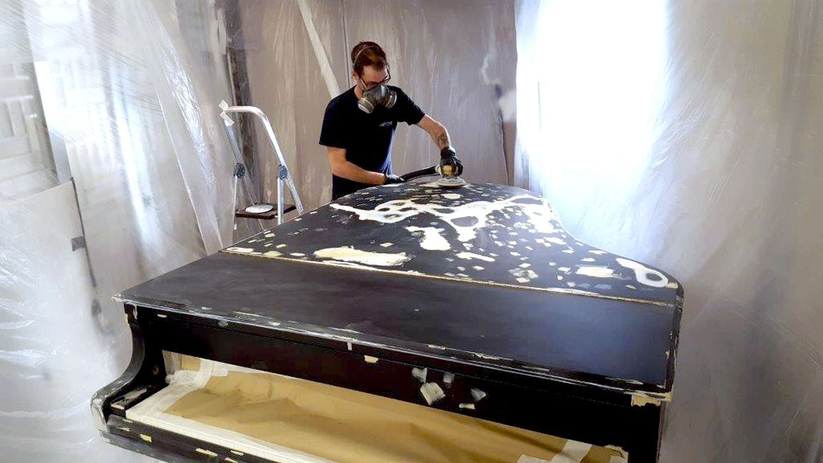 Magicman technicians can perform in-situ repairs, restoring furnishings to flawless condition