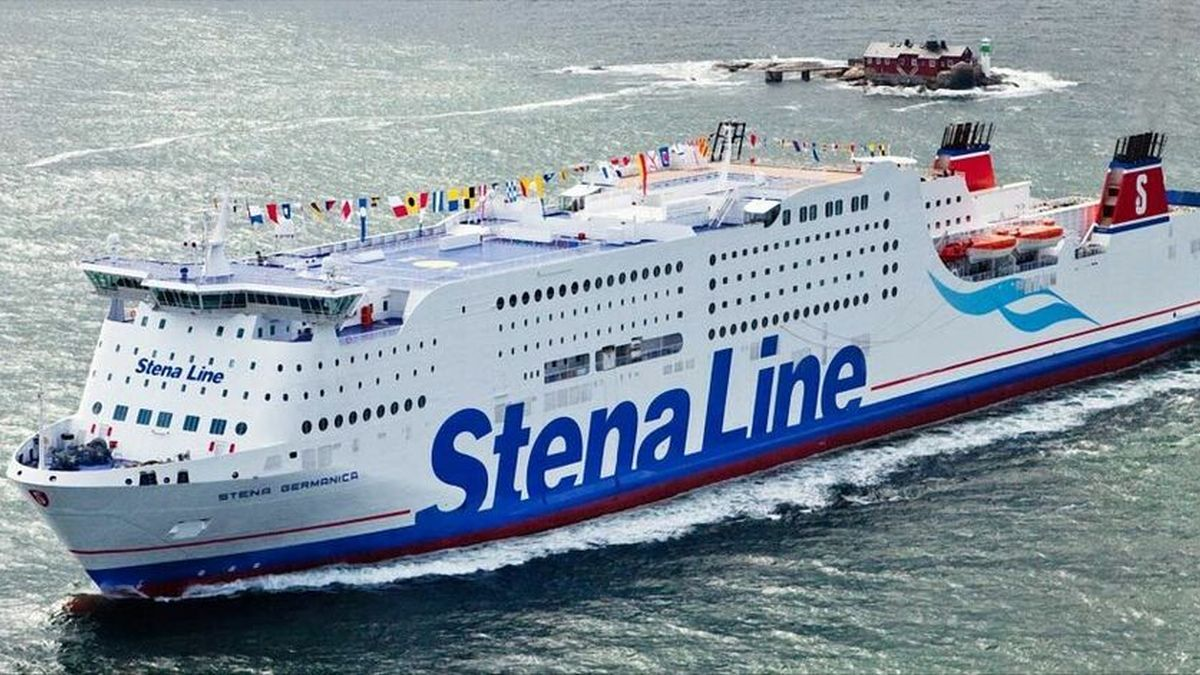 Stena converted a ballast water tank on Stena Germanica to store methanol securely on board
