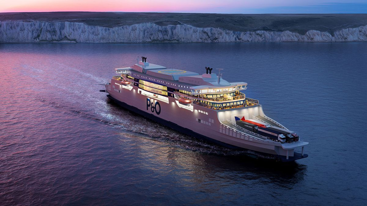 P&O's newbuild super ferries push the boundaries of what is expected from ferry travel