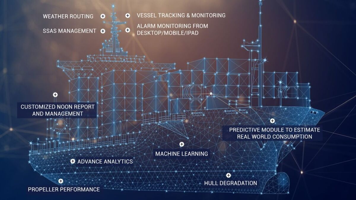 Applications for vessel optimisation with data in the cloud (source: Tototheo)
