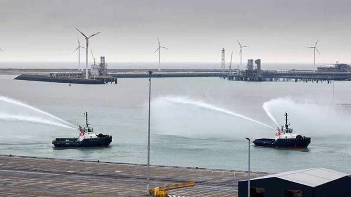 Boluda tugs arrive in Port of Zeebrugge, Belgium (source: Boluda)
