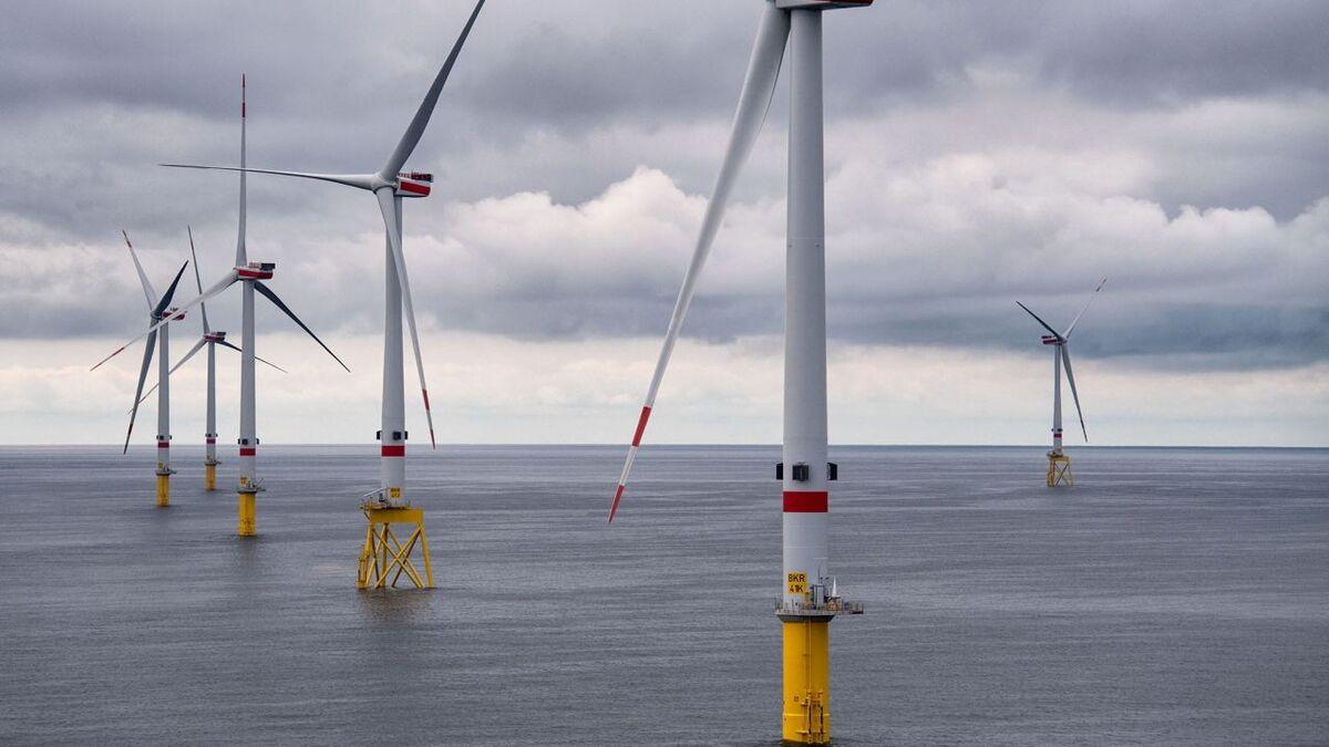 Amazon will buy energy from Borkum Riffgrund 3, which will be built next to Borkum Riffgrund 2, shown here