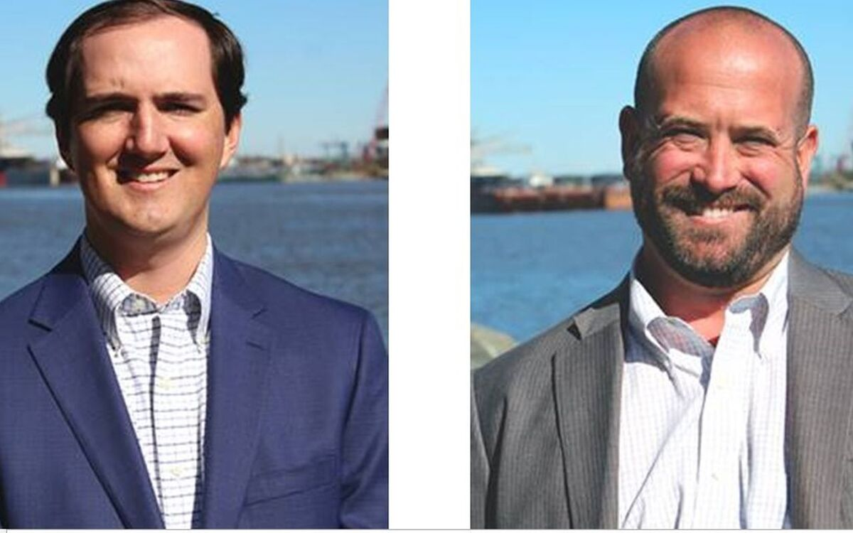 Cooper Marine new appointments (l-r) Strickler Adams and Alan Dodd