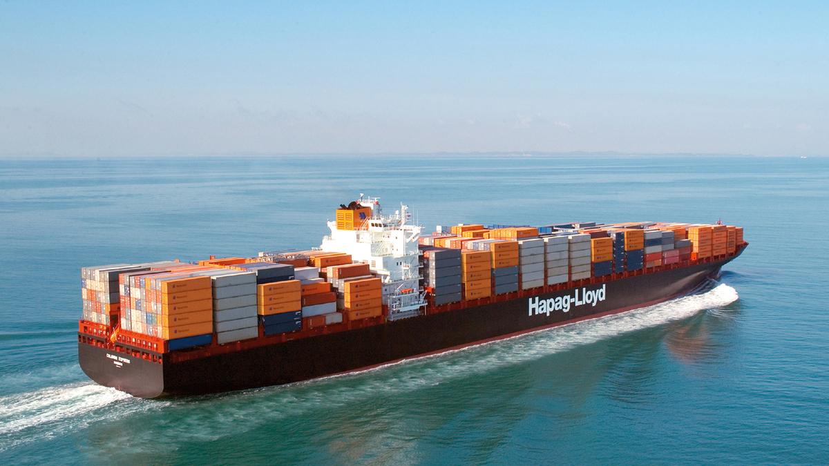 One-year time charter rates for 8,500-TEU container ships have been particularly strong (source: Hapag-Lloyd)