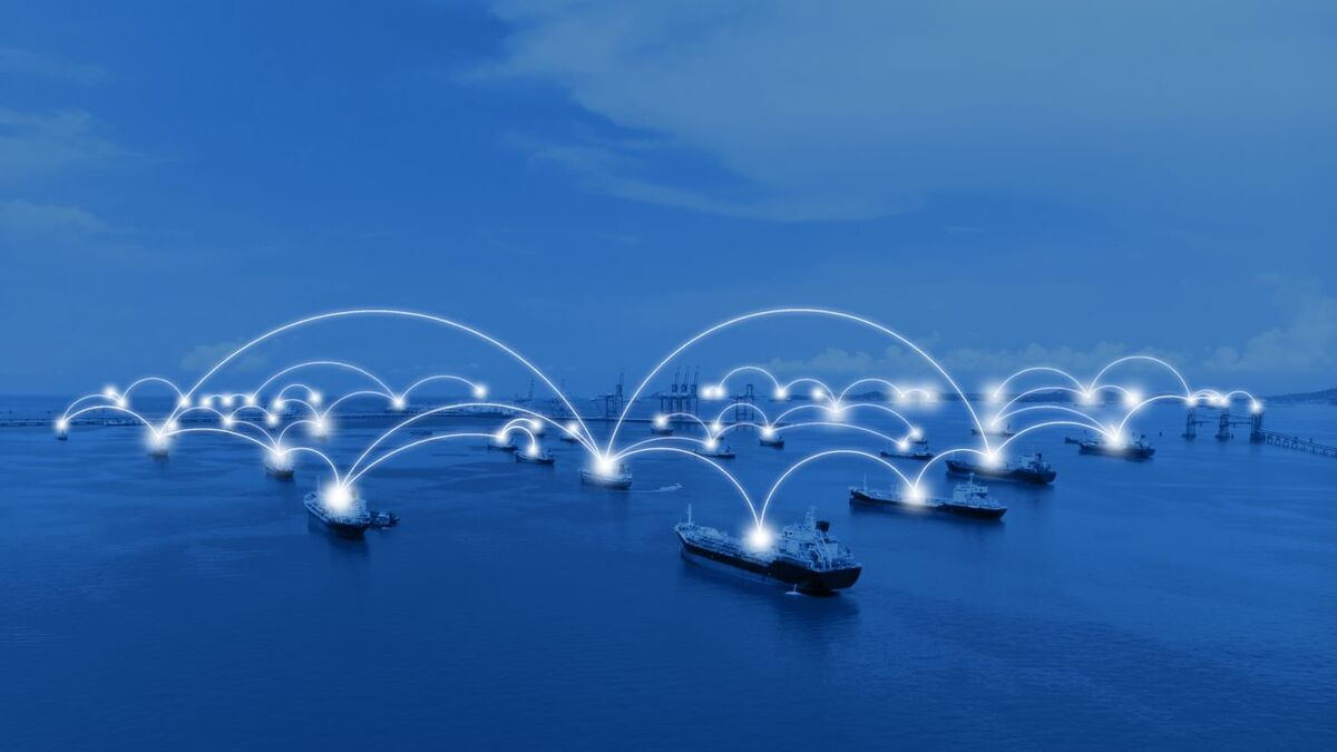 Cyber security for ship-to-ship communications (source: GTMaritime)