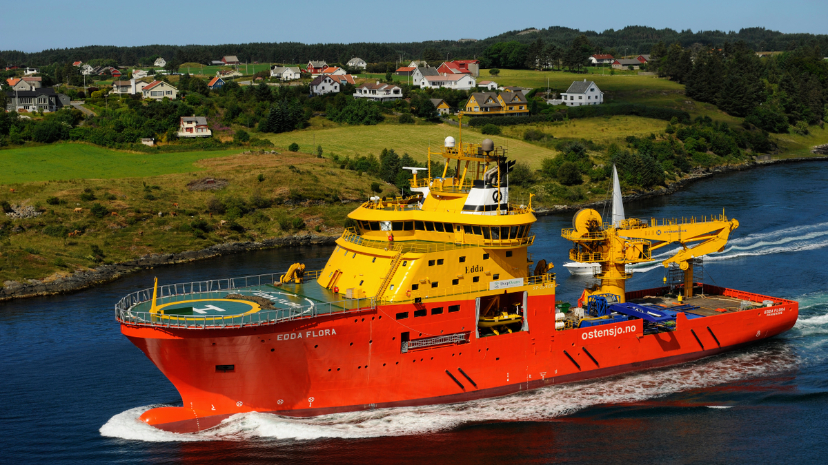 Following its upgrade, Edda Flora will reduce its carbon footprint in DP and normal operations (source: Wärtsilä)