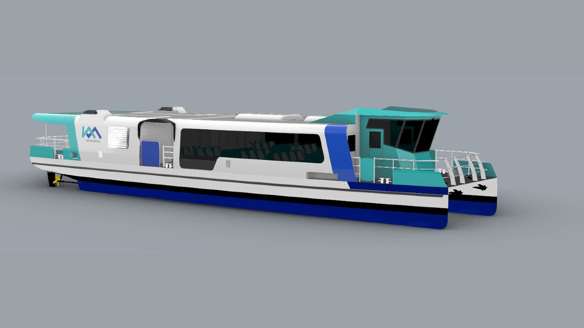 India's first water metro service will have 78 electric passenger ferries (source: Echandia)