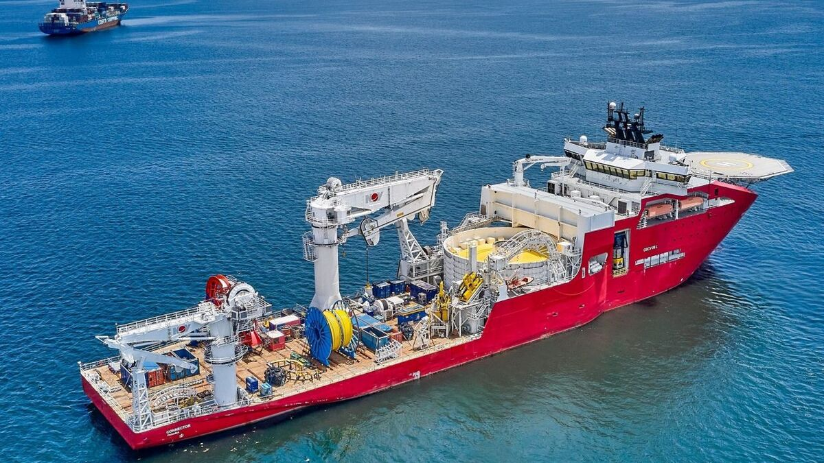 Connector will complement Jan De Nul's other cable-lay assets, Isaac Newton and Willem de Vlamingh