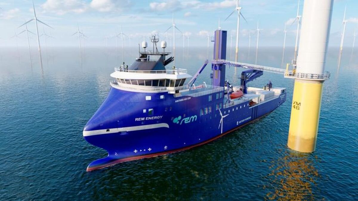 Rem Offshore's new vessel will be built at Green Yard Kleven and is based on a Havyard design