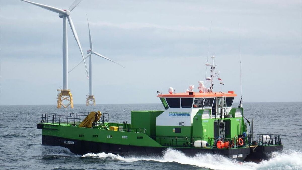 Reygar's BareFLEET is already in operation on a number of crew transfer vessels in the North Sea