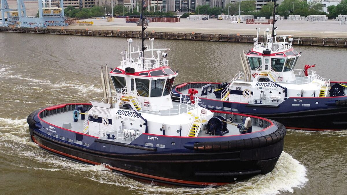Rotortugs ordered by Seabulk Towing for harbour operations in the Americas (source: Seacor)