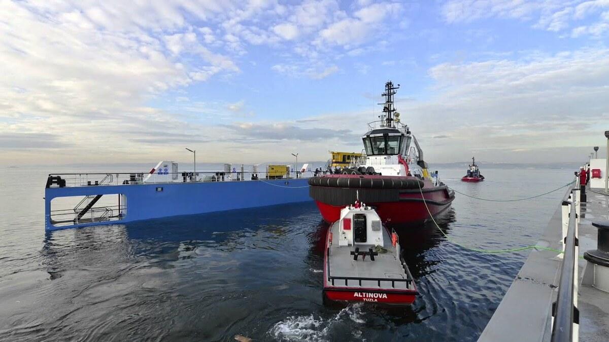Sanmar Altinova shipyard is building two ice-breaking tugs for Alfons Håkans