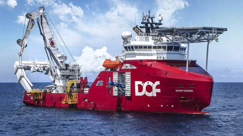 DOF secures four subsea vessel contracts