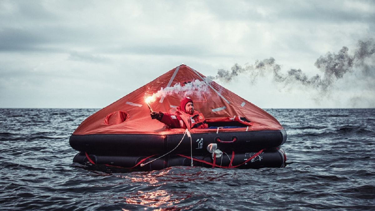 Survitec liferafts in near-perfect condition after 30 months