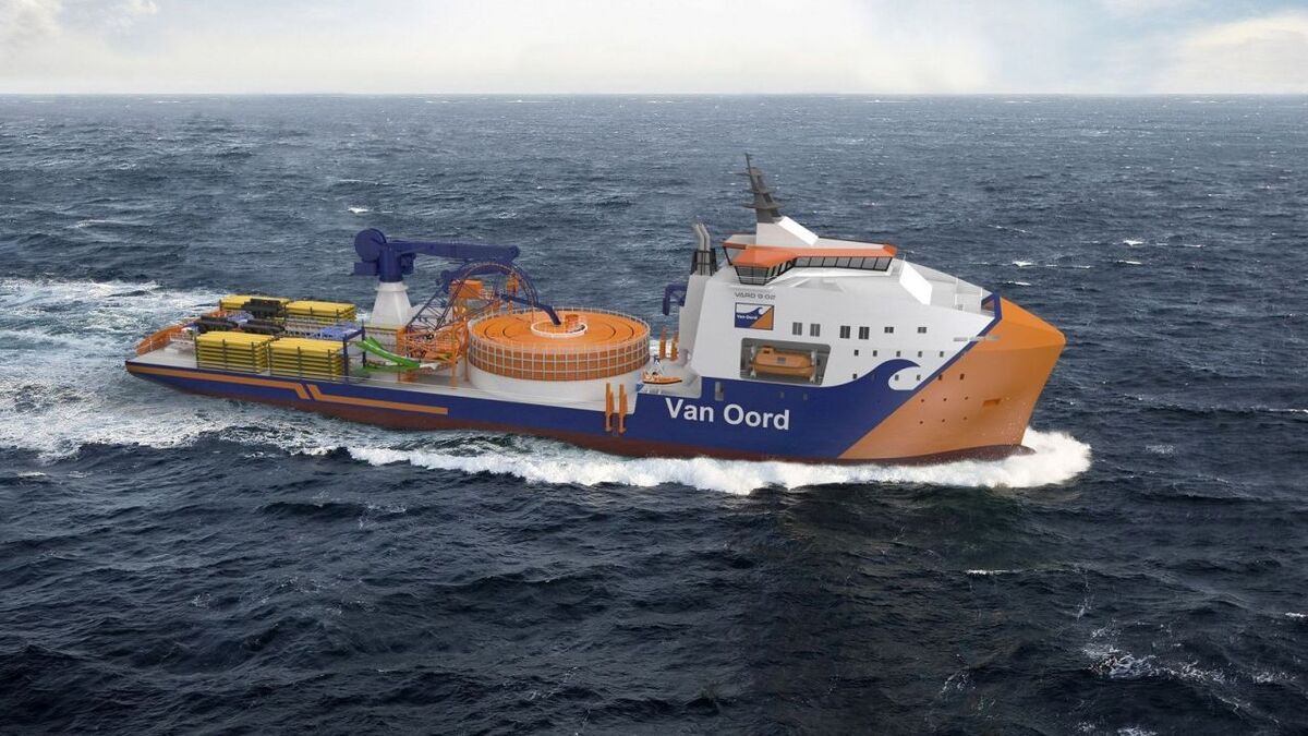 MAATS to provide cable gear for Van Oord newbuild