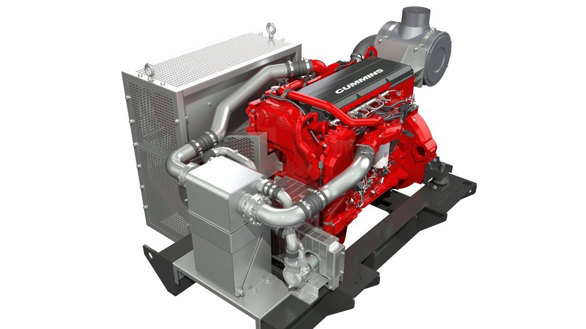 Cummins' X15 Stage V solution is an integrated engine and aftertreatment package (source: Cummins)