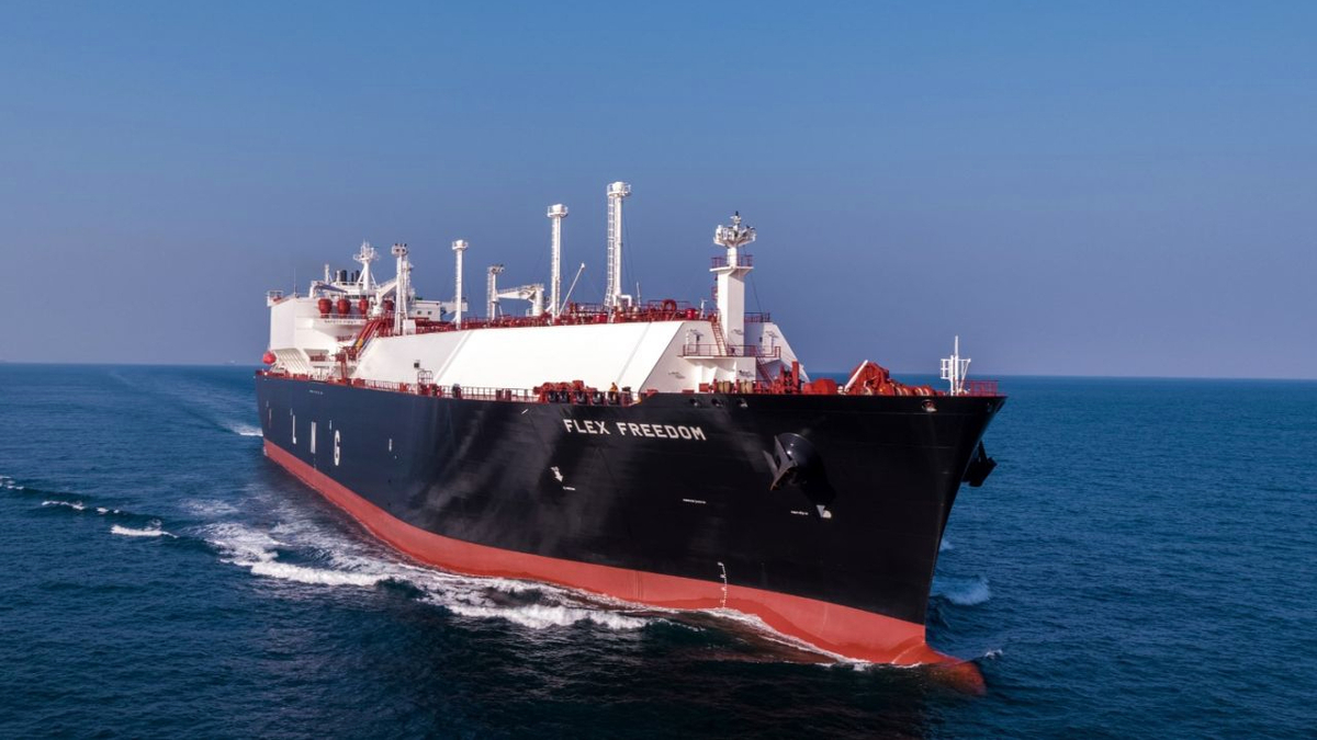 Flex Freedom is one of three newbuilds it will add to its fleet in 2021 (source: Flex LNG)