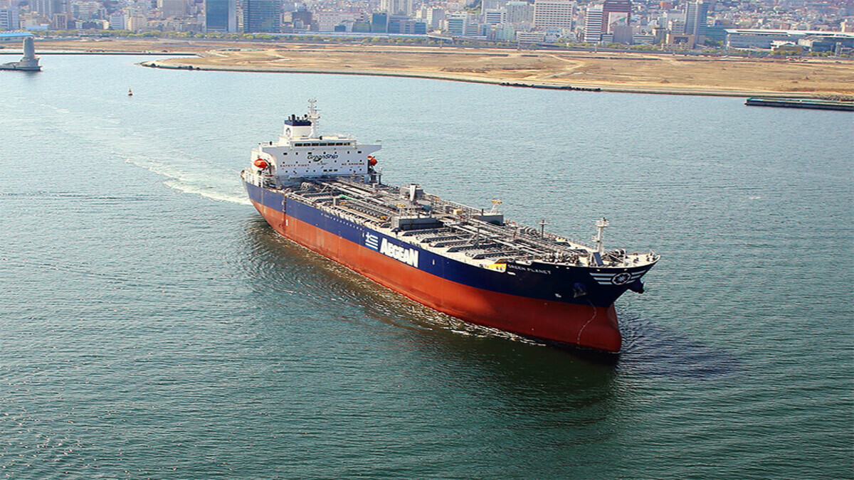 Aegean Shipping Management has ordered a new Aframax vessel from Cosco (Image: Aegean Shipping Management)