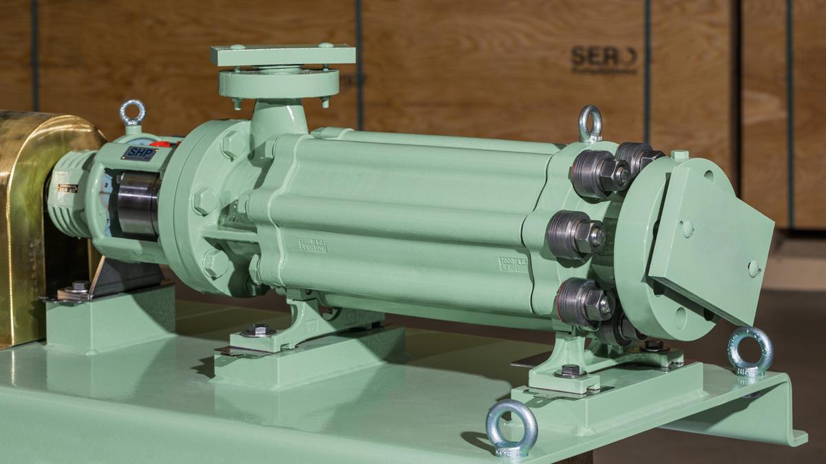 SERO pump transports LPG in hybrid marine propulsion systems