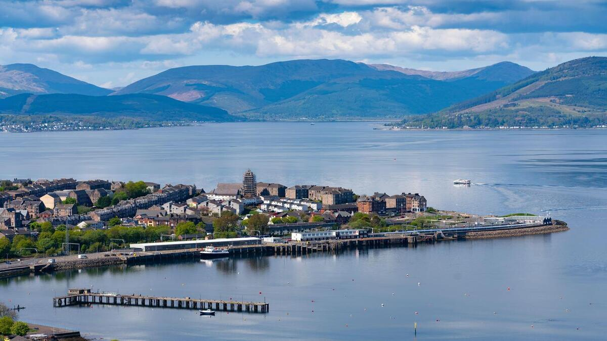 A new CalMac ferry will soon operate between Gourock, Dunoon and Kilcreggan (Image: CMAL)