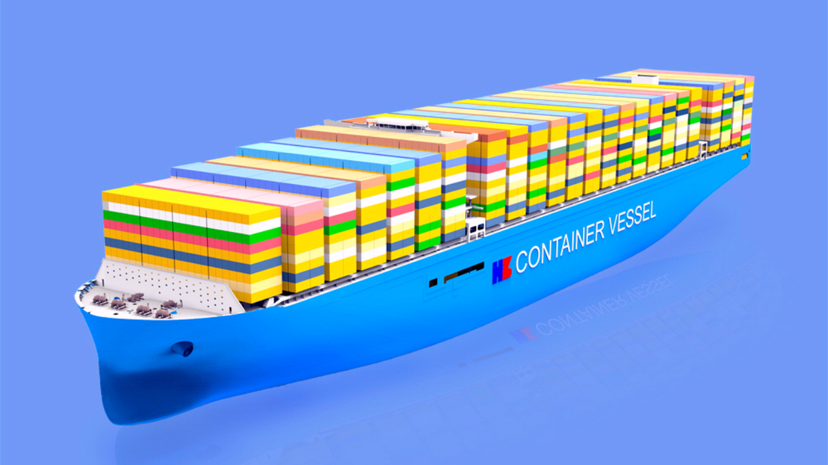 Chinese shipyards to build world's largest container ships