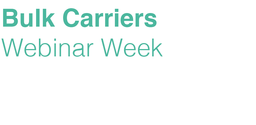 Bulk Carriers Webinar Week