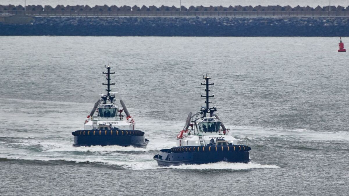 Boluda took delivery of new green propulsion tugs in Belgium in December 2020 (source: Boluda)