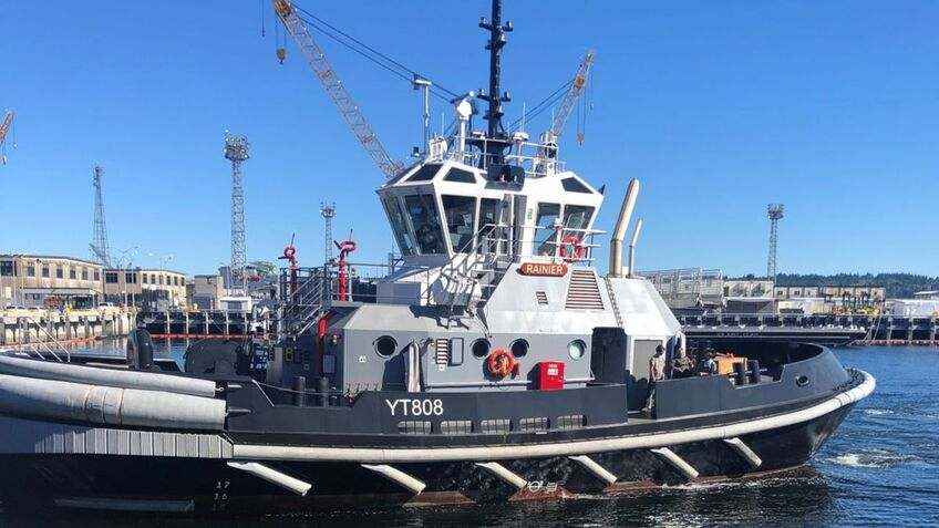 Engines and thrusters delivered for US Navy tugs