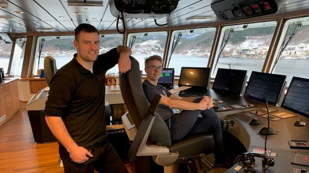 Crew use Raven INS on Havyard built wellboat Reisa (source: Norsk Fisketransport)