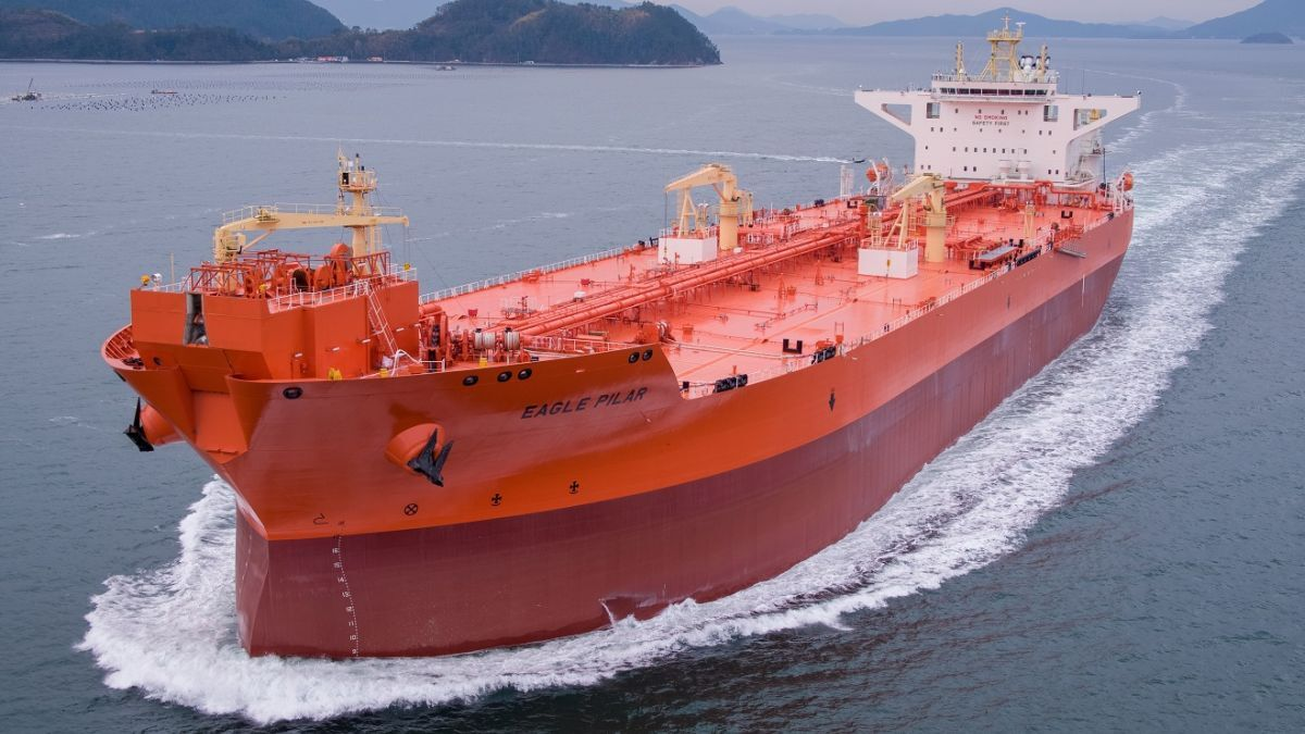 AET takes delivery of Eagle Pilar shuttle tanker
