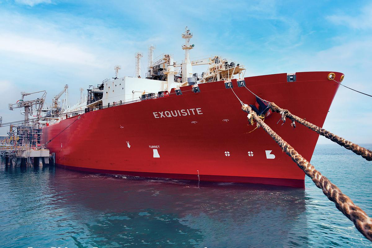 FSRU Exquisite meets about 15% of Pakistan's natural gas demand (source: Nakilat)