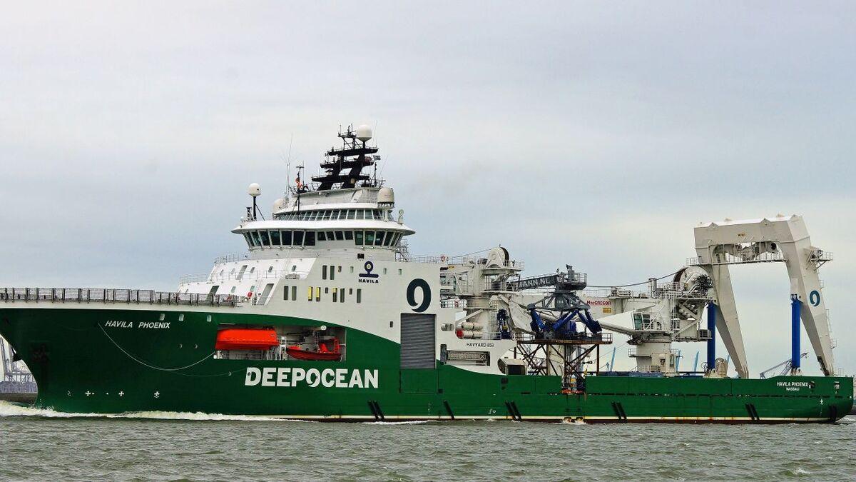 Havila Phoenix was on long-term charter to DeepOcean (source: Havila Shipping)