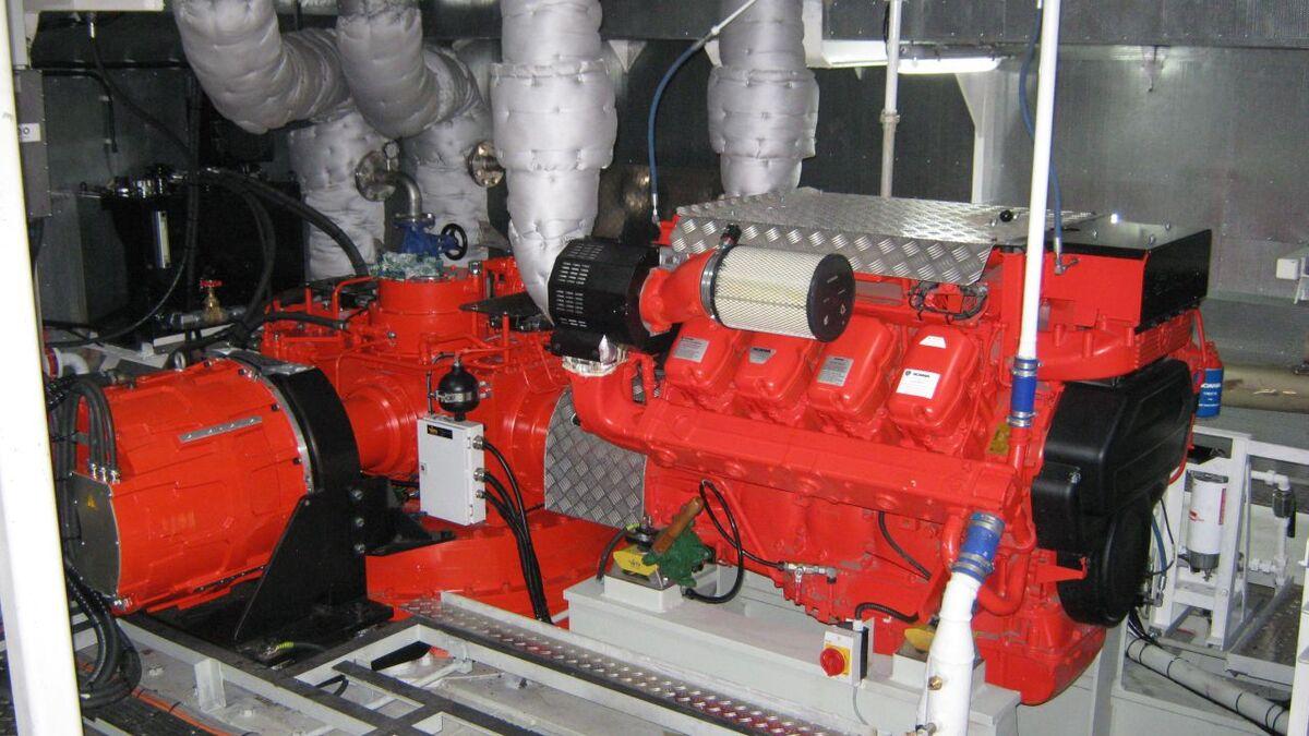 Hybrid drive with PM motor on passenger vessel Amamagna (source: Veth)