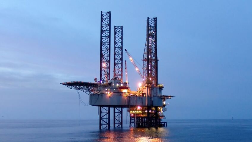 VSAT installed on harsh environment offshore drilling rigs