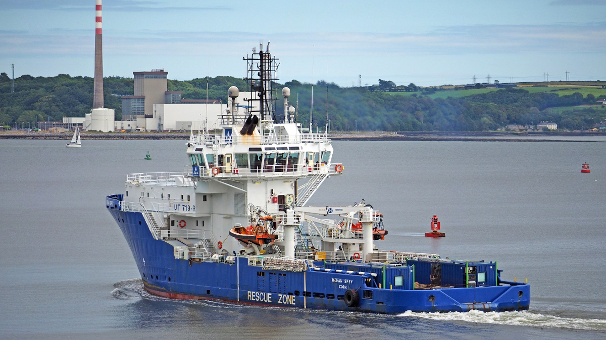 Ocean Spey's Bergen main engines were overhauled as part of a planned maintenance programme (source: Royston)
