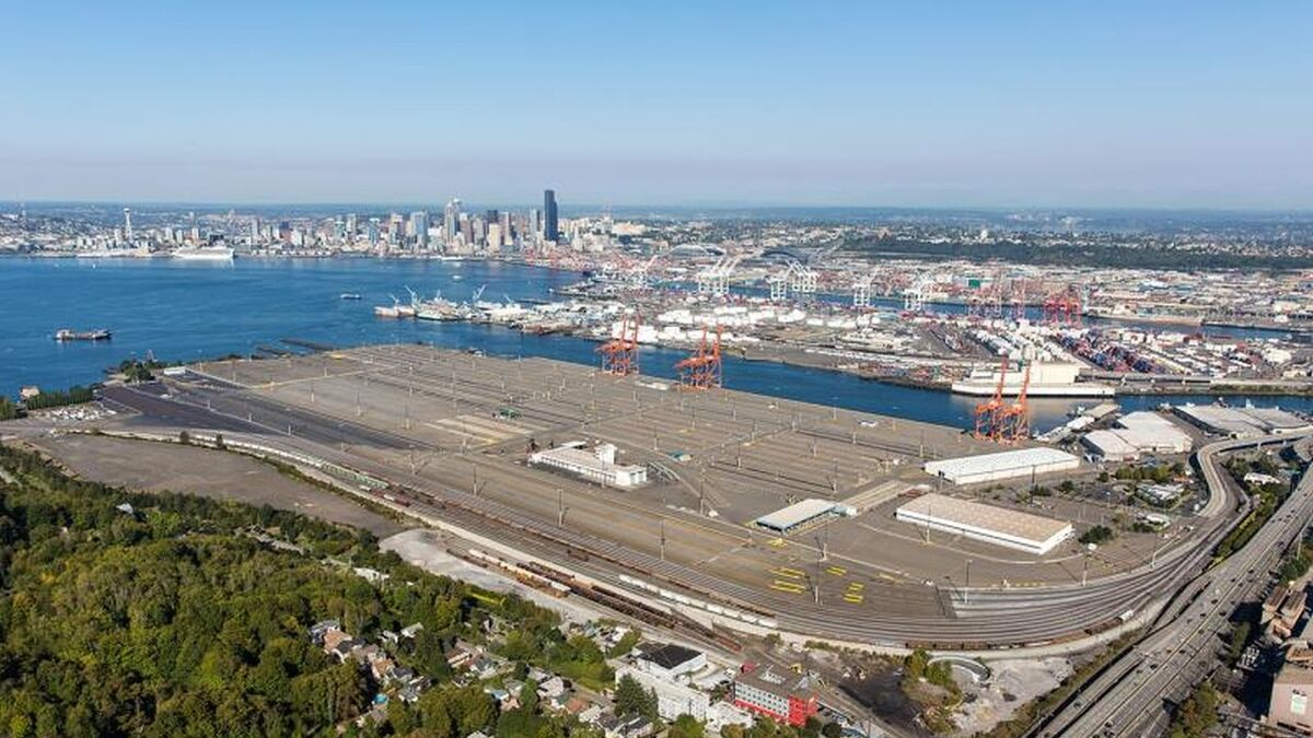 Upgrade to Port of Seattle Terminal 5 will include a Nokia LTE/5G network (source: Seattle)