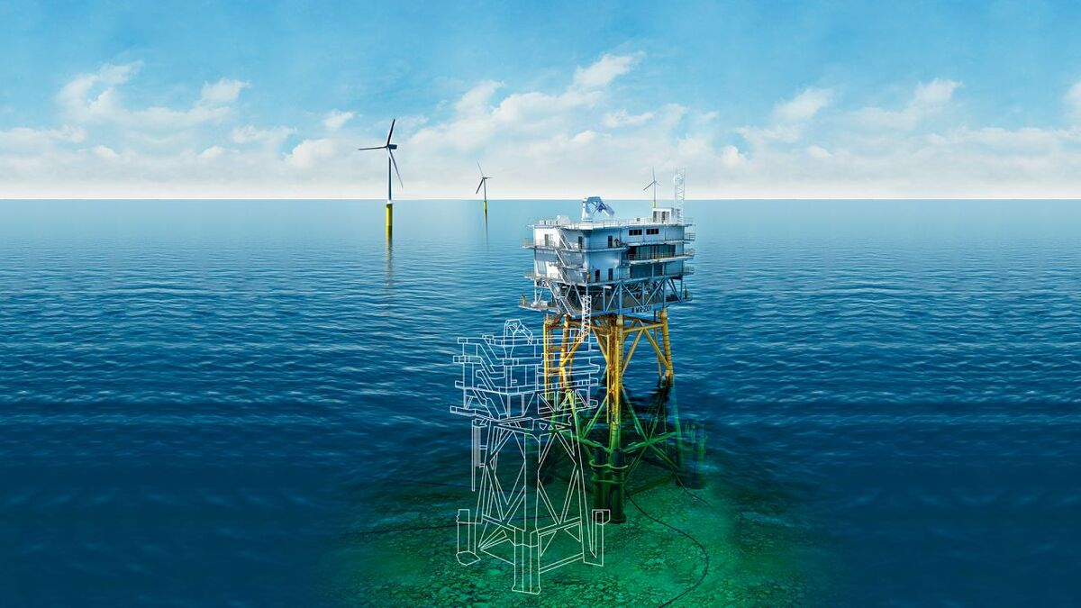 Digital twin can increase lifetime of offshore structures