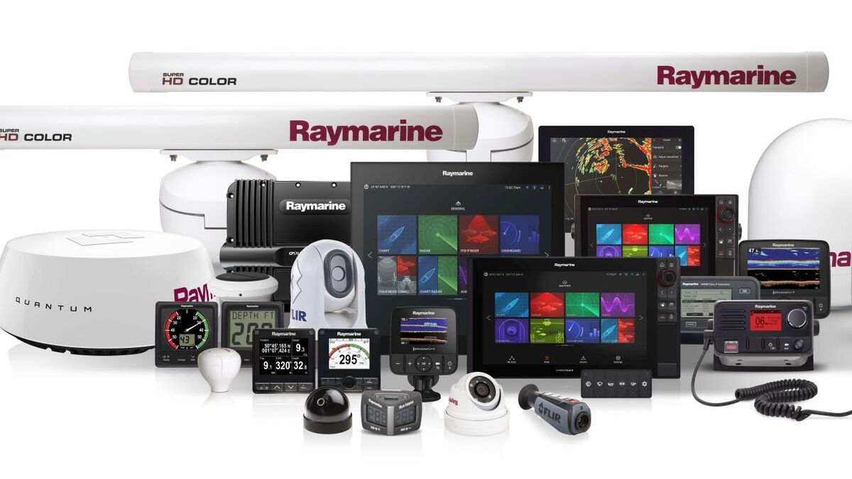 FLIR Raymarine's diverse product range of radar and bridge equipment (source: Raymarine)