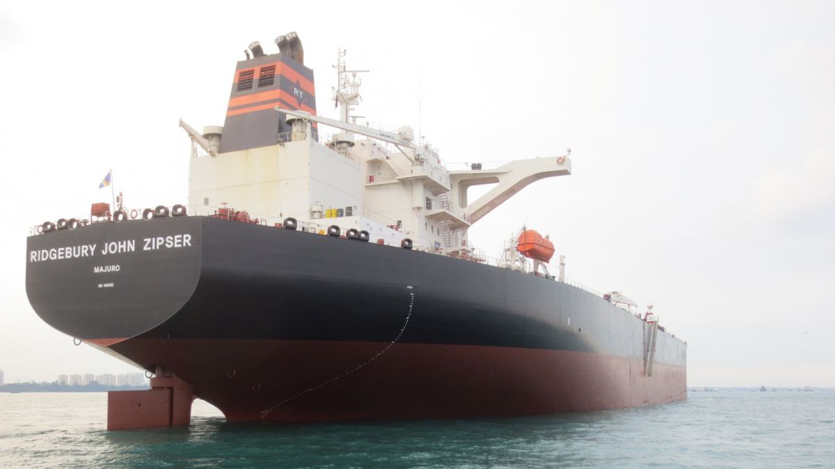 Ridgebury John Zipser: Suezmax tanker enters into the Suez8 pool (source: Ridgebury Tankers)