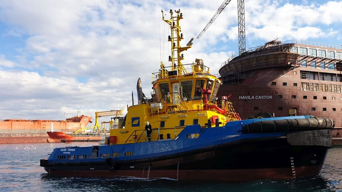 SAAM Tarqui will be mobilised from Turkey to Ecuador for SAAM Towage (source: Med Marine)