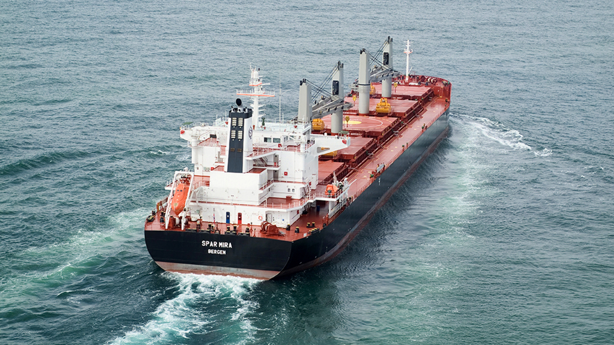 Proving performance is key for dry bulk carrier Spar Shipping (source: Spar Shipping)