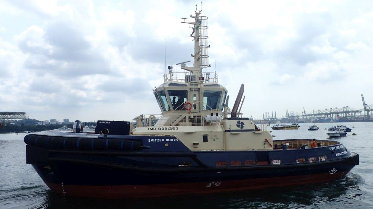 Svitzer North has started assisting ships into Geraldton Port, Western Australia (source: RAL)