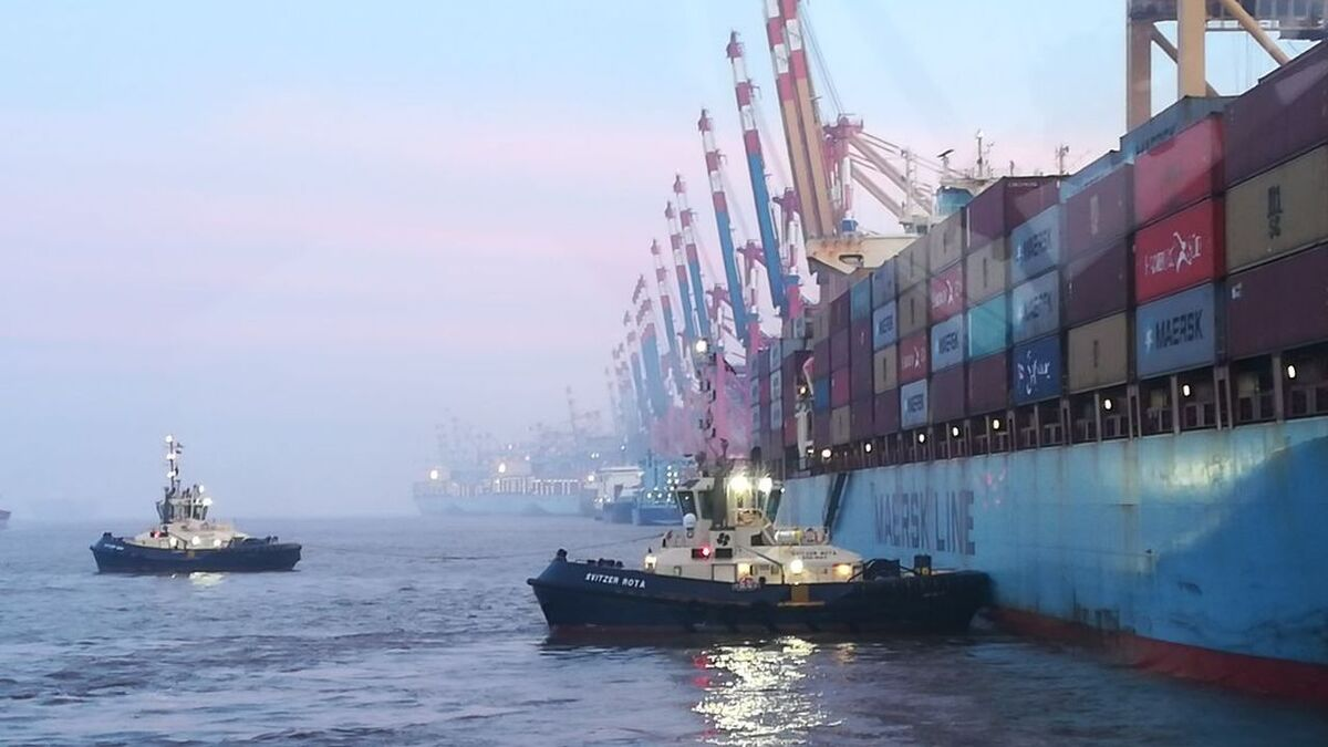 Svitzer tugs enable maritime trade flow in Bremerhaven, Germany (source: Svitzer)
