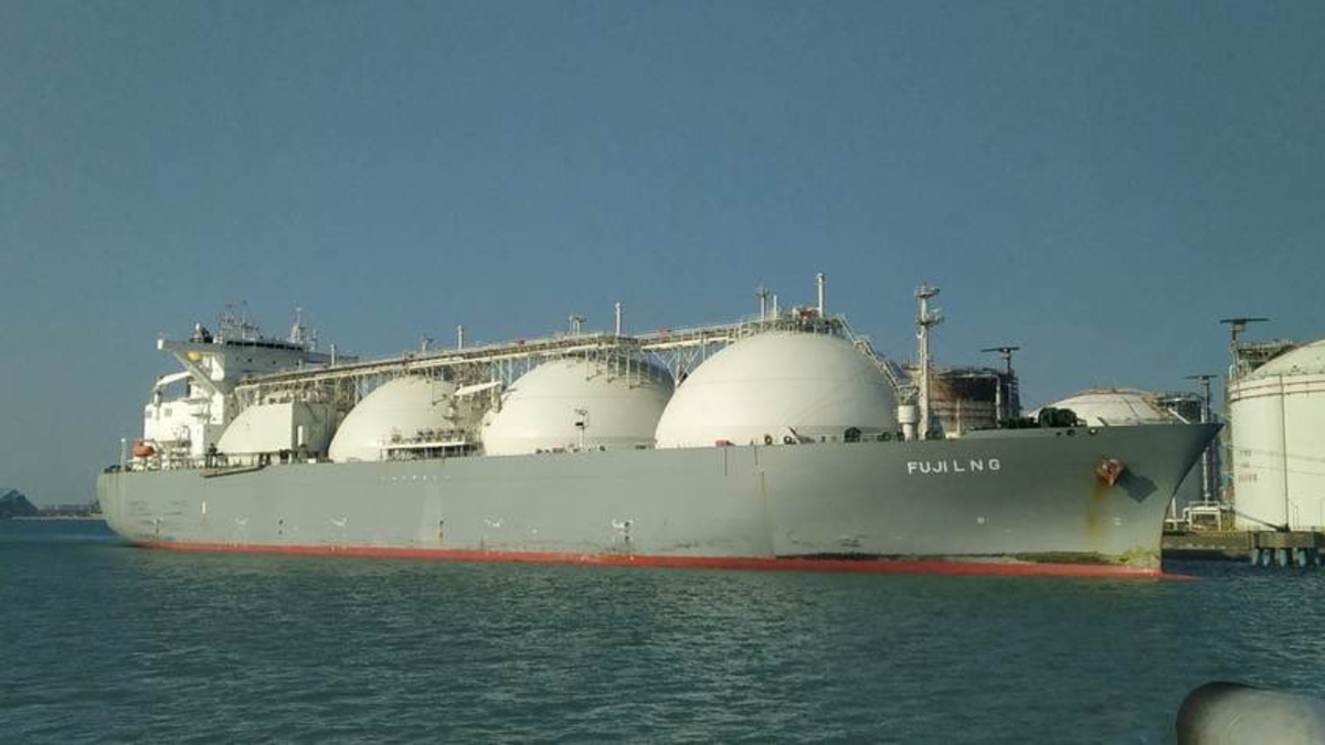 Taiwan's CPC received its first cargo from US LNG producer Cheniere Energy (source: Cheniere)